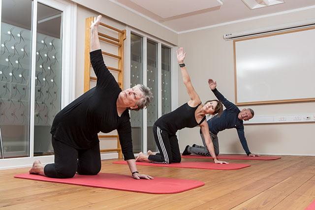 Fysioflow træning hos kiropraktorhuset Roar